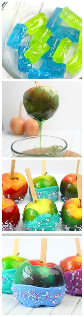 This Jolly Rancher Candy Apples recipe is a great way to make custom candied apples that will fit every season, every party you have. Candied apples, yum!