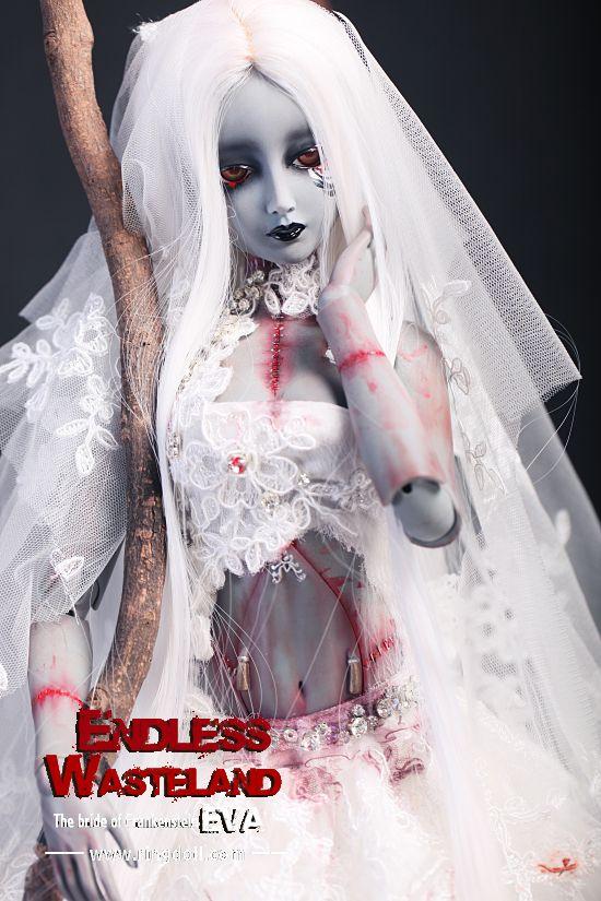 Eva невеста Франкенштейна #bjd #ringdoll #russia