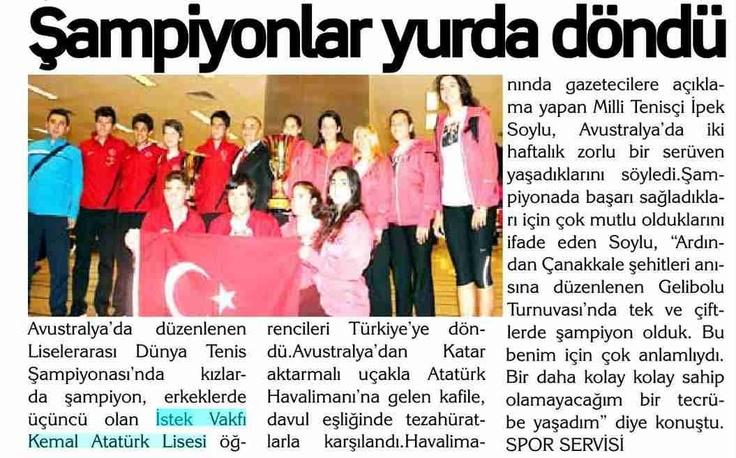 5 Mayıs 2013 / Yenihaber Gazetesi
