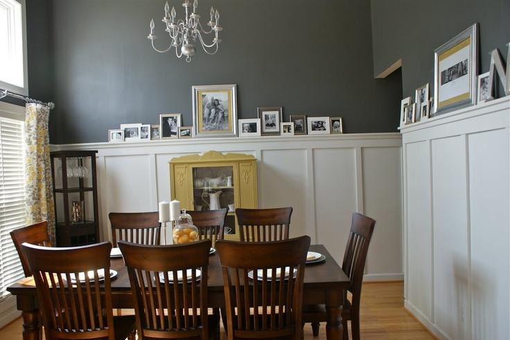 Best 25+ Grey Dining Room Paint Ideas On Pinterest