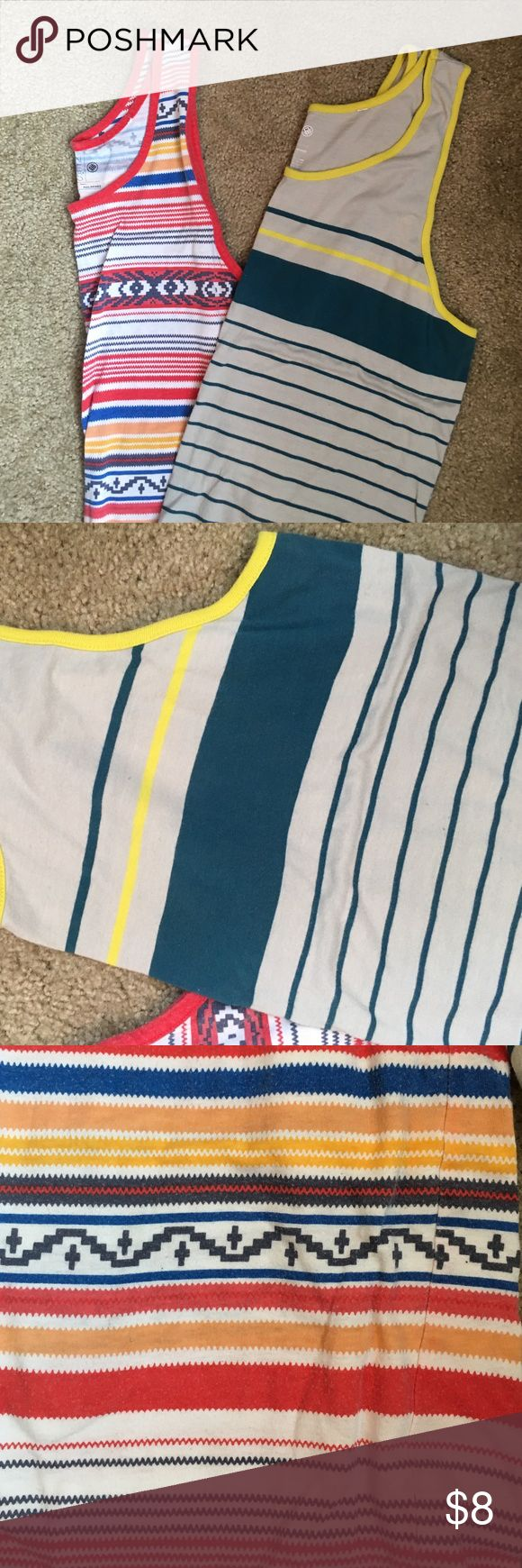 Men's Pacsun tank tops Two Pacsun summer tanks. Great for beach wear. Slightly worn. Smoke and pet free home! PacSun Shirts Tank Tops