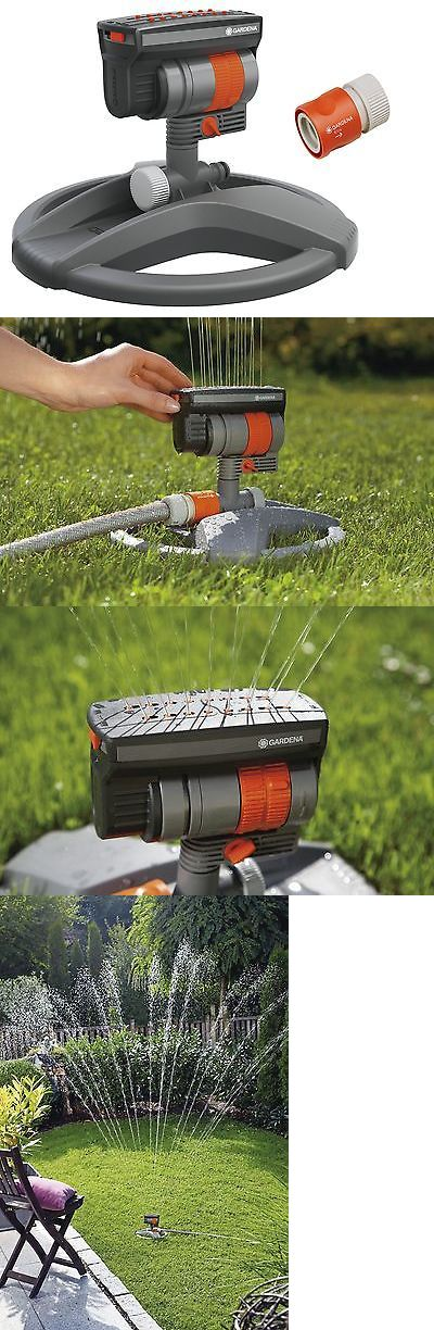 Lawn Sprinklers 20542: Gardena Zoommaxx Oscillating Sprinkler On Weighted Sled Base -> BUY IT NOW ONLY: $63.76 on eBay!