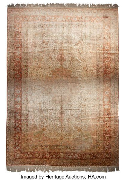 Kayseri Silk Carpet 18 feet 6 inches long x 12 fee…