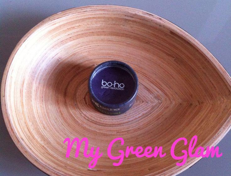 Test de l'ombre à paupière Boho Green Aubergine | My Green Glam