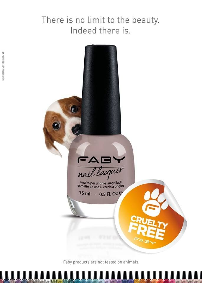 We love colours, people, fashion, design... But of course even plants and animals... Share with us our love... Faby is 100% cruelty free !