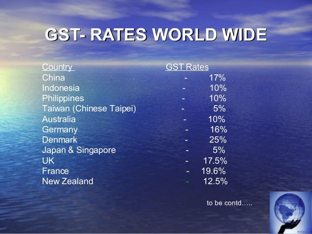gst in australia vat in germany A value-added tax (vat), known in some countries as a goods and services tax (gst), is a type of general consumption tax that is collected incrementally, based on the increase in value of a product or service at each stage of production or distribution.