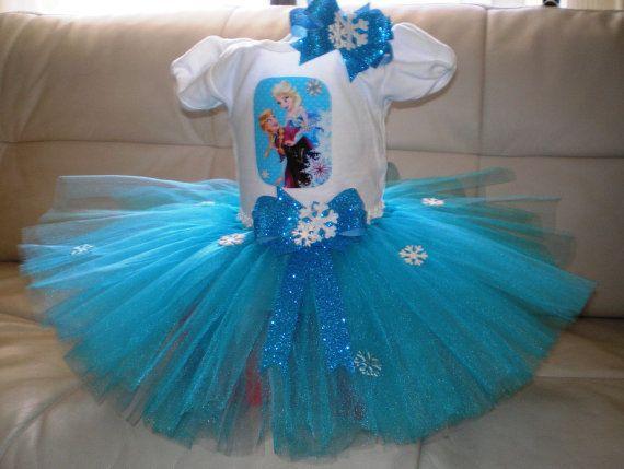 Congelados traje Tutu Elsa congelados traje TuTu congelados