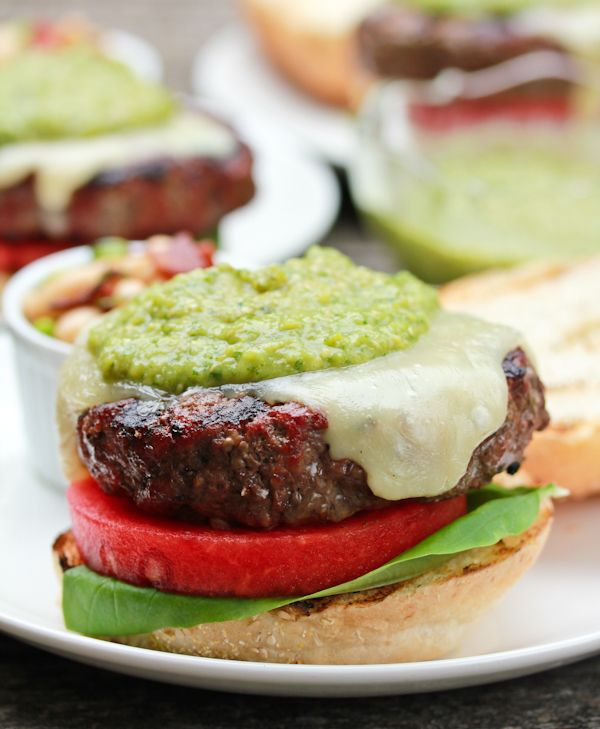 ... Burgers on Pinterest | Interview, Turkey burgers and Stuffed burgers