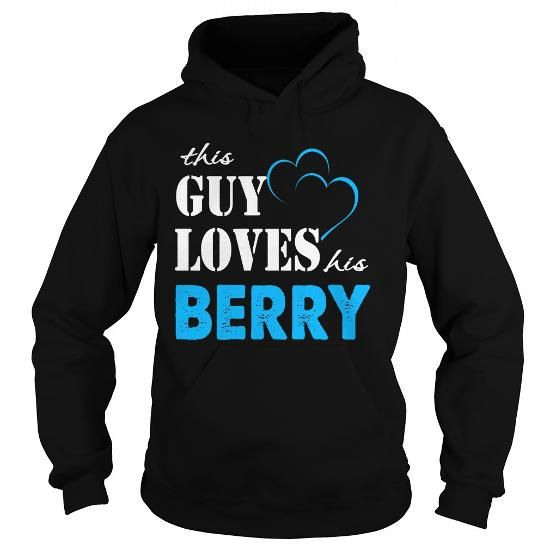 cool TeeForBerry  Guy Loves Berry  Loves Berry Name Shirt