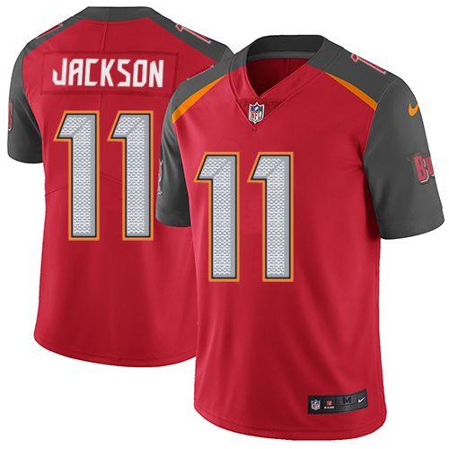 76291c942b0 ... Mens Nike Tampa Bay Buccaneers 11 DeSean Jackson Red Team Color Vapor  Untouchable Limited Player ...
