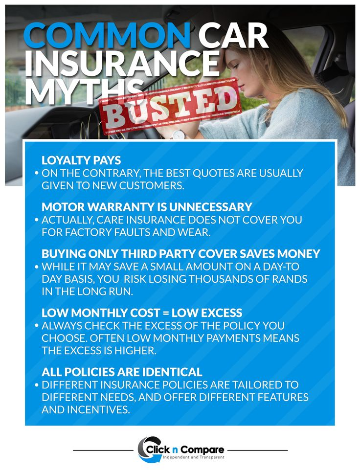 Insurance myths: Busted http://bit.ly/1EEAXd8