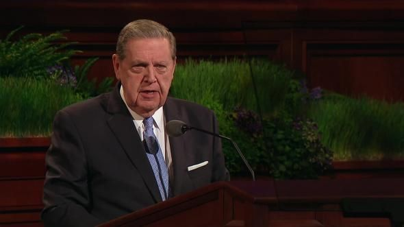 """Tomorrow the Lord Will Do Wonders among You"" - By Elder Jeffrey R. Holland.  Don't give up! This is one of the most inspiring and encouraging talks I've ever heard."