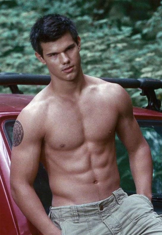 Taylor Lautner- sexiest man alive right here