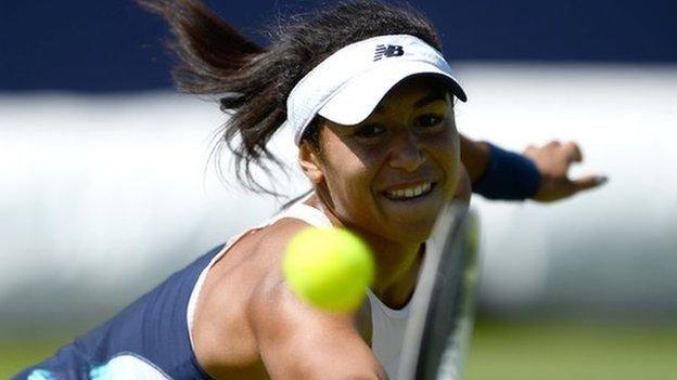 #tennis #news  Watson beaten in Surbiton Trophy final