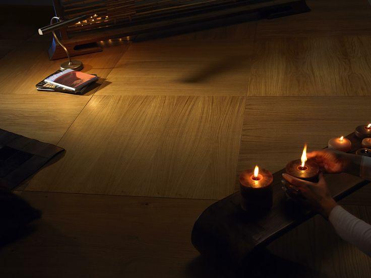 Pavimento in legno di Rovere Europeo #rovere #quadrolegno #wood #design