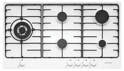 Westinghouse Gas Cooktop White.
