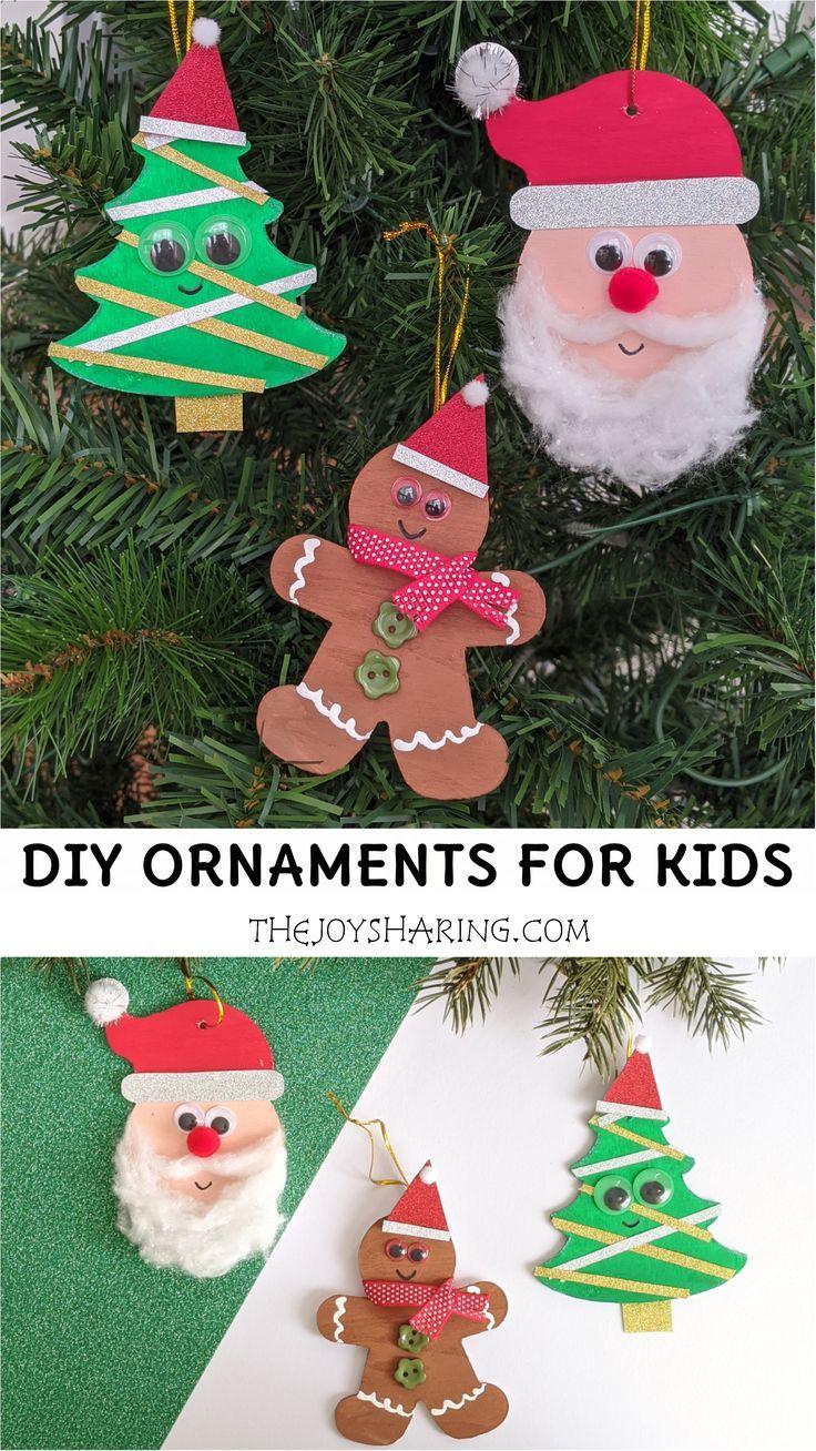 Diy Christmas Ornaments For Kids Kids Christmas Ornaments Fun Christmas Activities Christmas Ornaments Diy Kids