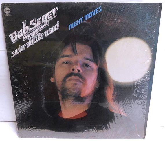 Bob Seger Night Moves Vintage Vinyl Record Album Shrink 1976 St511557 Nm Exc Vintage Vinyl Records Vinyl Record Album Vinyl Records