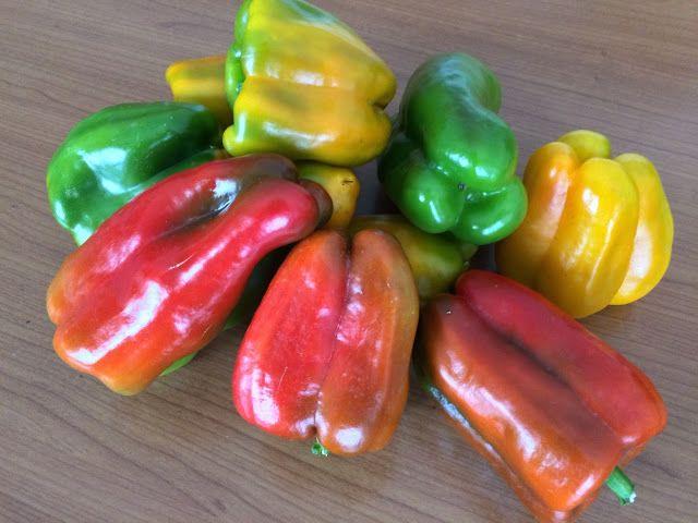 Il Blog di Sam: Rossi, gialli o verdi...i peperoni