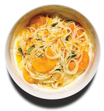 Pasta with Sun Gold Tomatoes