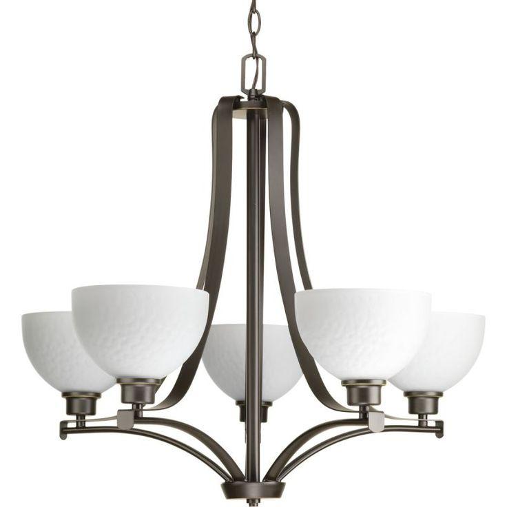 Progress Lighting P4271 Legend Chandelier With 5 Lights 28 Wide Antique Bronze Indoor Lighting