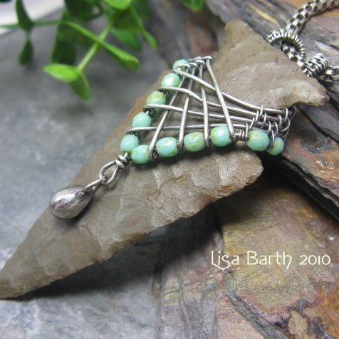 wire-wrapped arrowhead