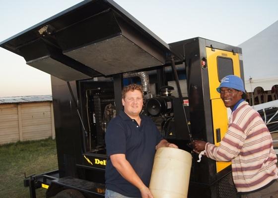 ZAMDELA - Our sound team was hard at work!