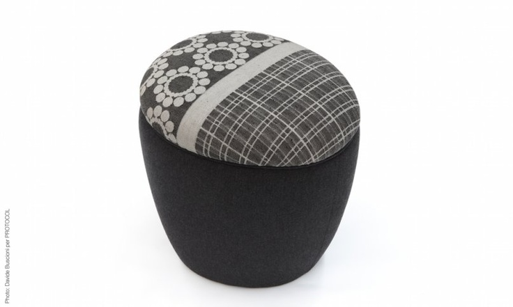 S footstool - design by Ilaria innocenti