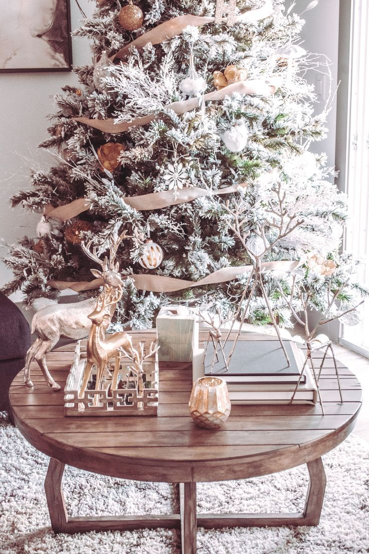 How To Style And Decorate A Christmas Tree Christmas Decor Inspiration Glam Christmas Decor Christmas Table Decorations