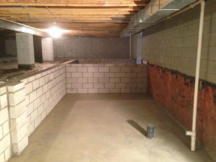 New Dig Out Crawl Space to Make Basement
