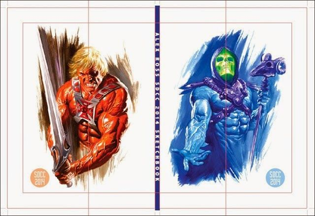 He-Man and Skeletor by Alex Ross