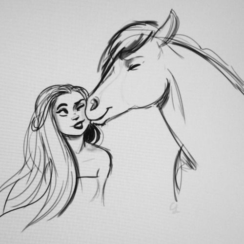 Cute Horses To Draw Horse Heads Clipart Free Download Best Horse