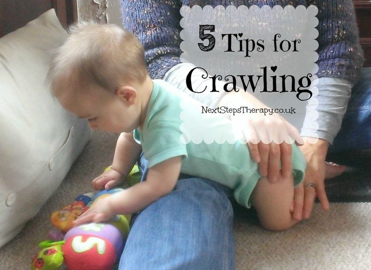 how to help your baby start crawling