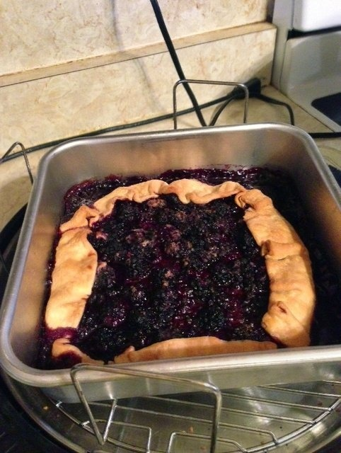 Baking A Fruit Cake In A Halogen Oven
