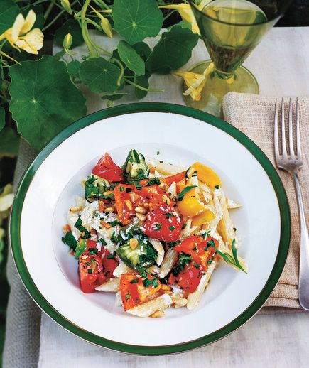 Rebecca Miller's Pasta With Ricotta and Heirloom Tomatoes   Now's the…