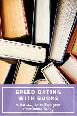 Speed dating classroom activity