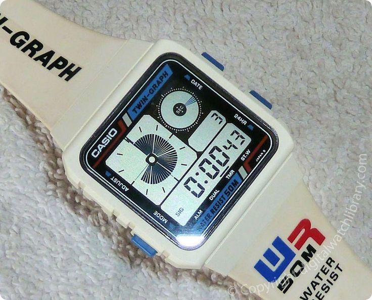 CASIO - AE-20W-7 - DigitalHands - Vintage Digital Watch - Digital-Watch.com
