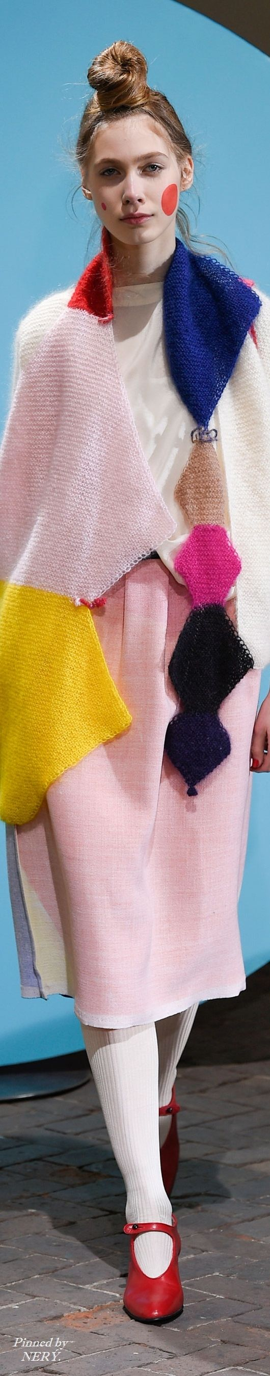 The colors in that knit!!   GREGİS_Fall 2016 RTW    via @theslowlorus
