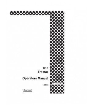 CASE IH 885 TRACTOR OPERATORS MANUAL DOWNLOAD (With images