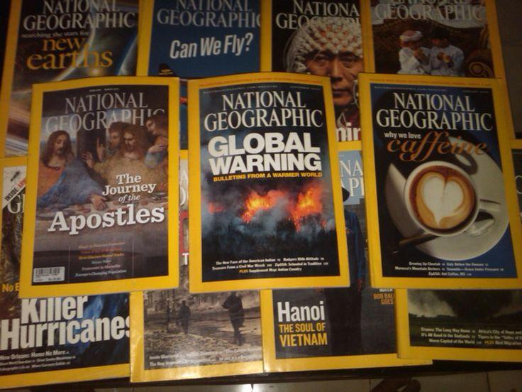 Majalaj national geografi