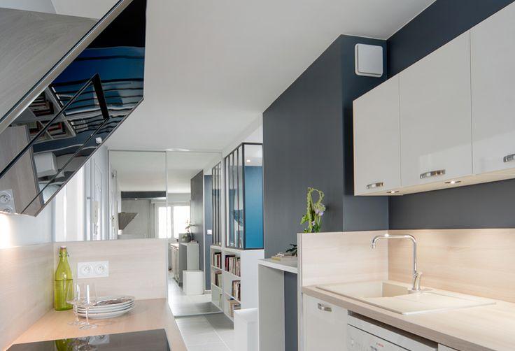 un espace de caract re marion lano agence d 39 architecture int rieure et d coration lyon. Black Bedroom Furniture Sets. Home Design Ideas