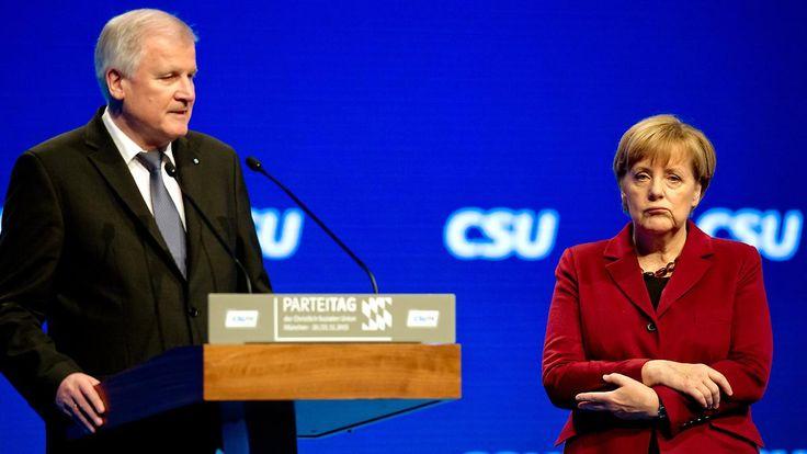 Wenn der Unions-Streit weitergeht: Seehofer droht, CDU-Parteitag zu meiden