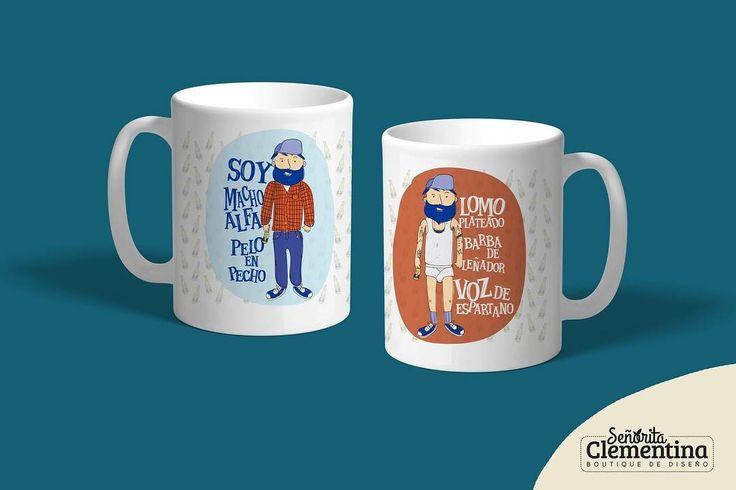 Consiente a tu macho alfa lomo plateado favorito con esta taza para su café mañanero  Disponible en @joyislands Tlacotalpan 6 Col. Roma Sur #humor #macho #machoalfa #paraél #paraellos #novio #esposo #señoritaclementina