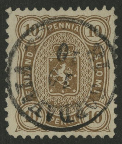 Finland-1881-Scott-27b-USED