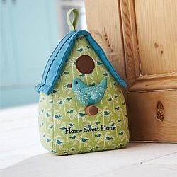 birdhouse doorstop