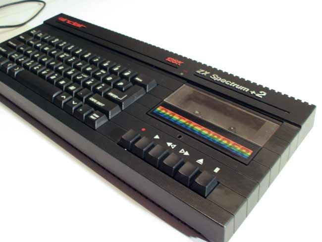 Rob loves a bit of retro tech - ZX Spectrum