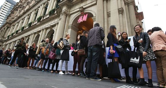 H&M Melbourne slams David Jones and Myer in retail buzz | Crikey