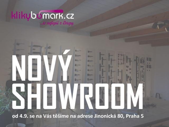 zastavte se za námi třeba na kávu - nový showroom Praha
