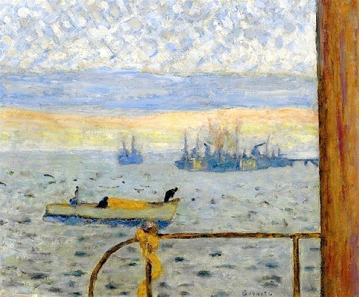 PIERRE BONNARD (1867-1947) La Rade