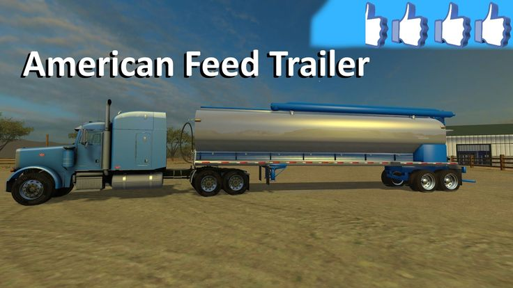 Review American Feed Trailer #FS15